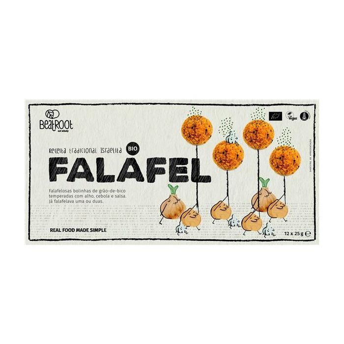 Falafel Vegan Bio Bolinhas Gão-De-Bico Congeladas