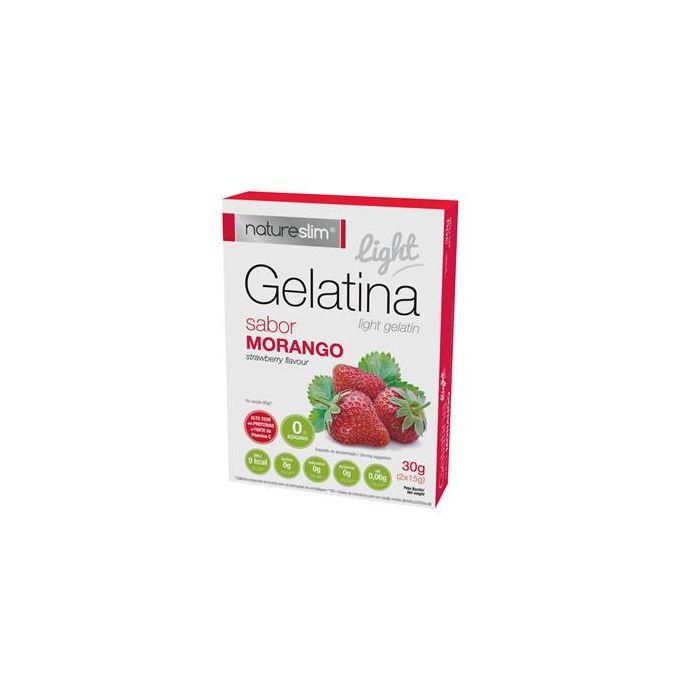 Preparado Para Gelatina Light Morango