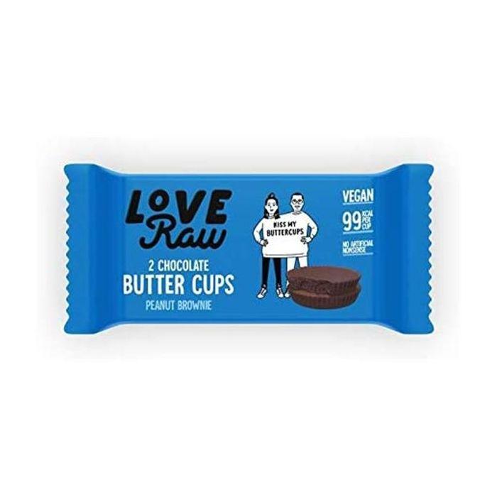 Butter Cups Com Recheio Brownie Amendoim