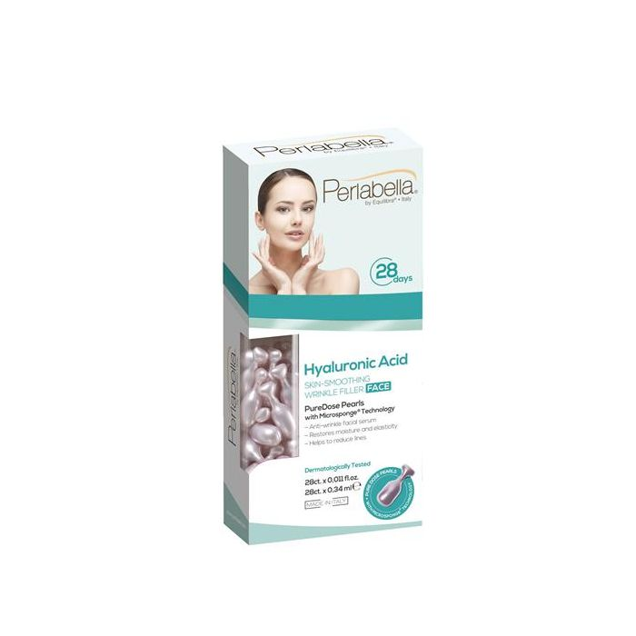 Perlabella® Hyaluronic Acid (Ácido Hialurónico) 28 Dias