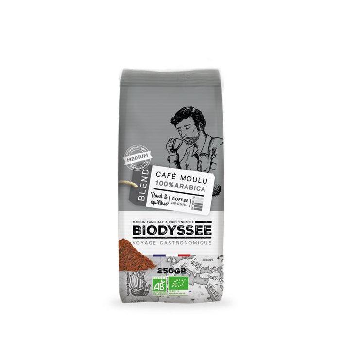 Café Moído 100% Arábica Biológico - Torra Média