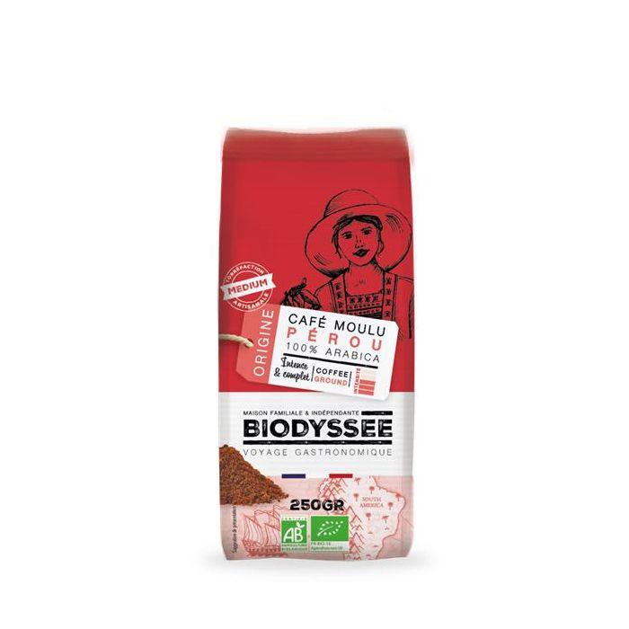 Café Moído 100% Peru Arábica Biológico