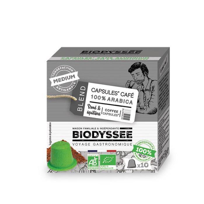 Café Cápsulas (Compatível Nespresso) 100% Arábica Biológico
