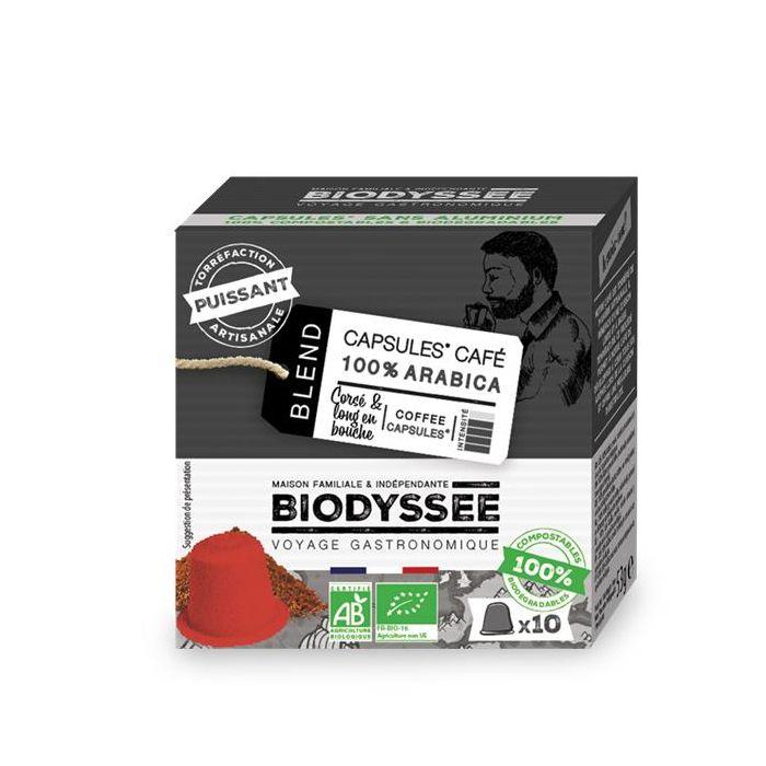 Café Cápsulas Compatível Nespresso Forte Biológico