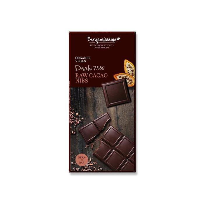 Chocolate Preto 75% Bio