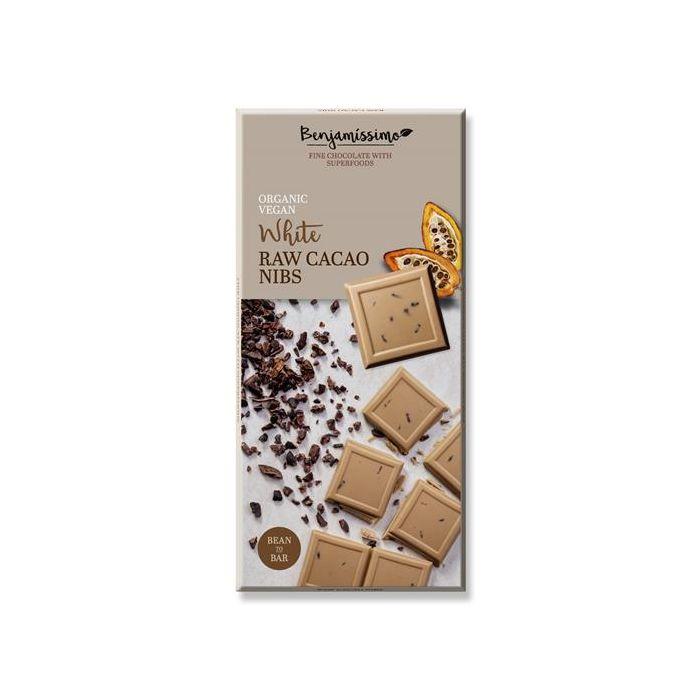 Chocolate Branco Com Pepitas De Cacau Bio