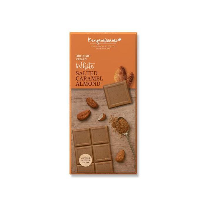 Chocolate Branco Amêndoa Caramelo Salgado