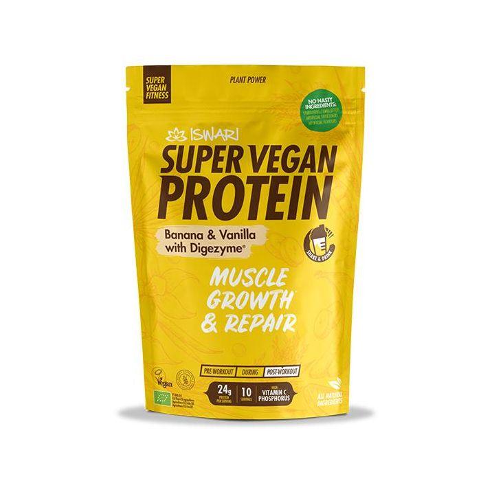 Proteína Vegan Bio Banana Baunilha - Pós Treino