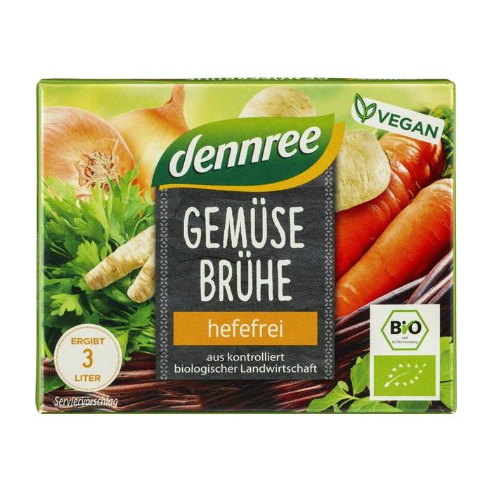 Dennree Caldo Legumes Bio 60G