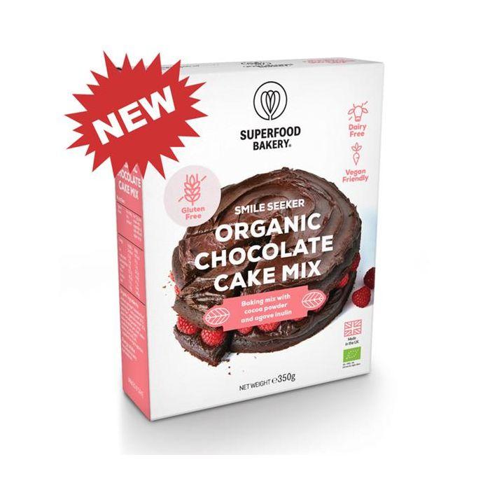 Mix Para Bolo De Chocolate Bio Sem Glúten