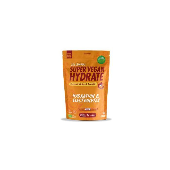 Super Vegan Fitness Hydrate Água Coco Acerola - Durante