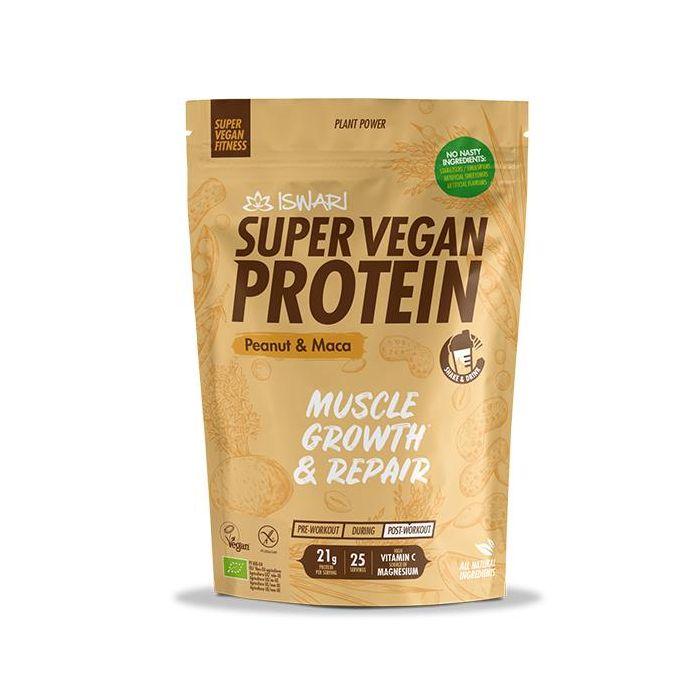 Super Vegan Protein Fitness Bio Amendoim E Maca