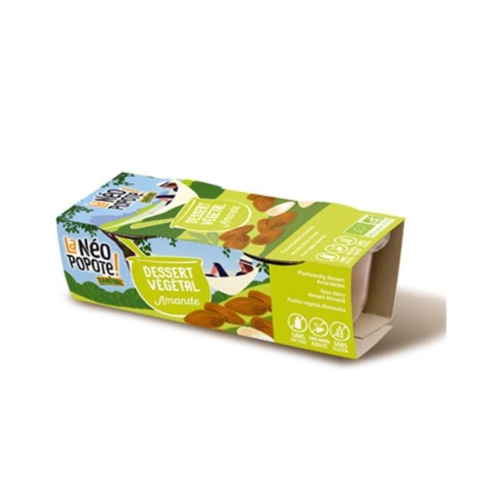 Sobremesa Vegetal Amêndoa Bio 2X100g