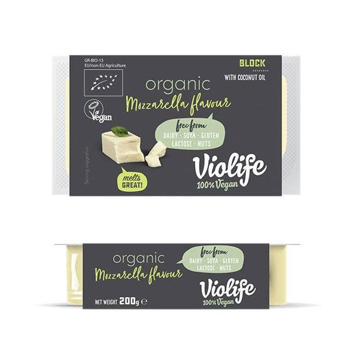 Bloco Vegan Bio Aroma A Mozzarella