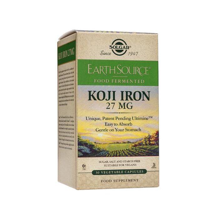 Ferro Proveniente De Koji Fermentado
