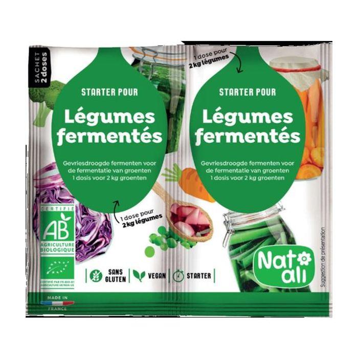 Fermentos Para Lactofermentação De Legumes Bio