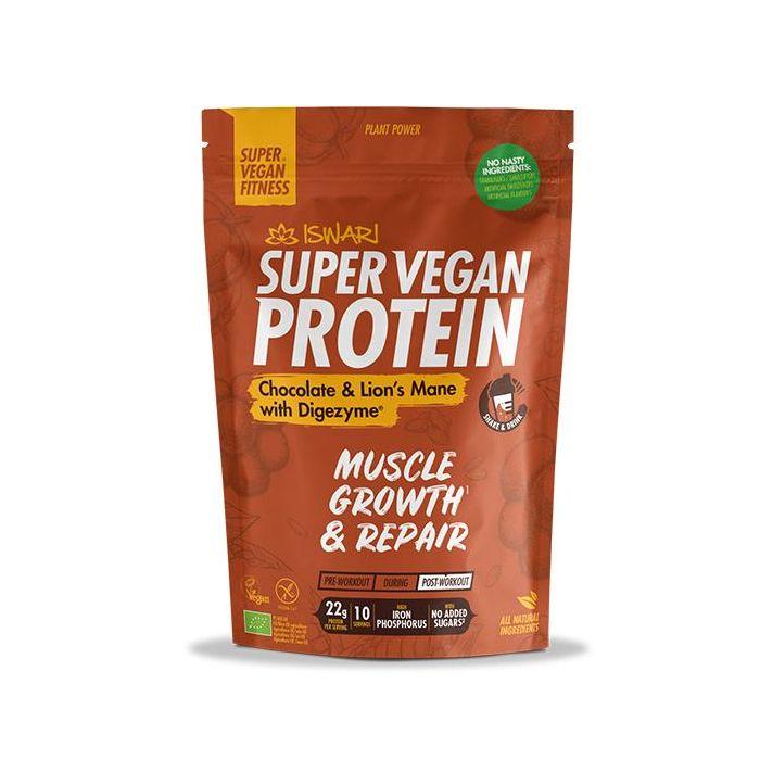 Super Vegan Protein Choc Lions Mane Bio