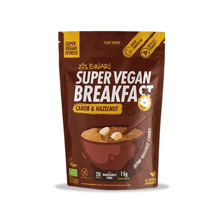 Super Vegan Breakfast Alfarroba Avelã