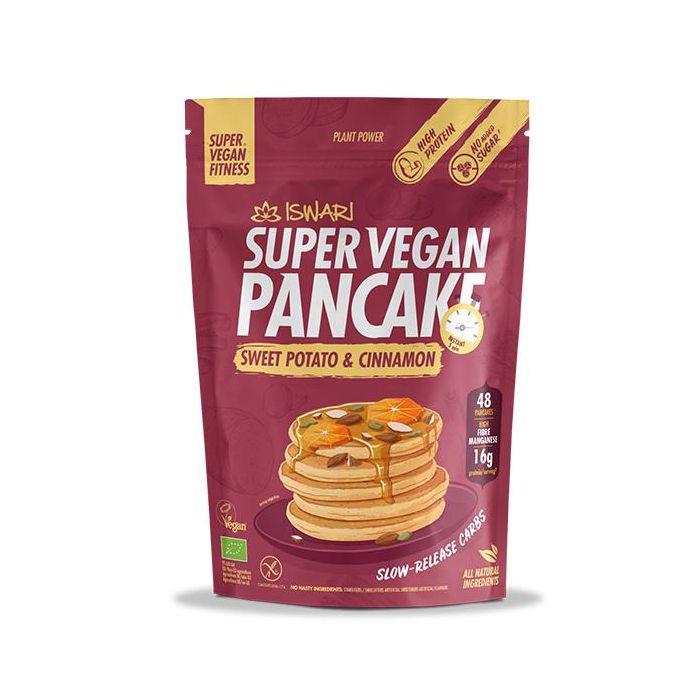 Super Vegan Panqueca Batata-Doce Canela