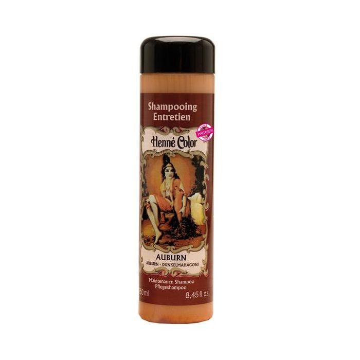 Shampoo Para O Cabelo Henné Color Auburn