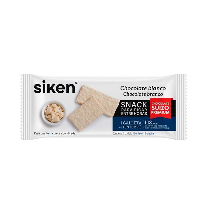 Siken Form Snacks Chocolate Branco