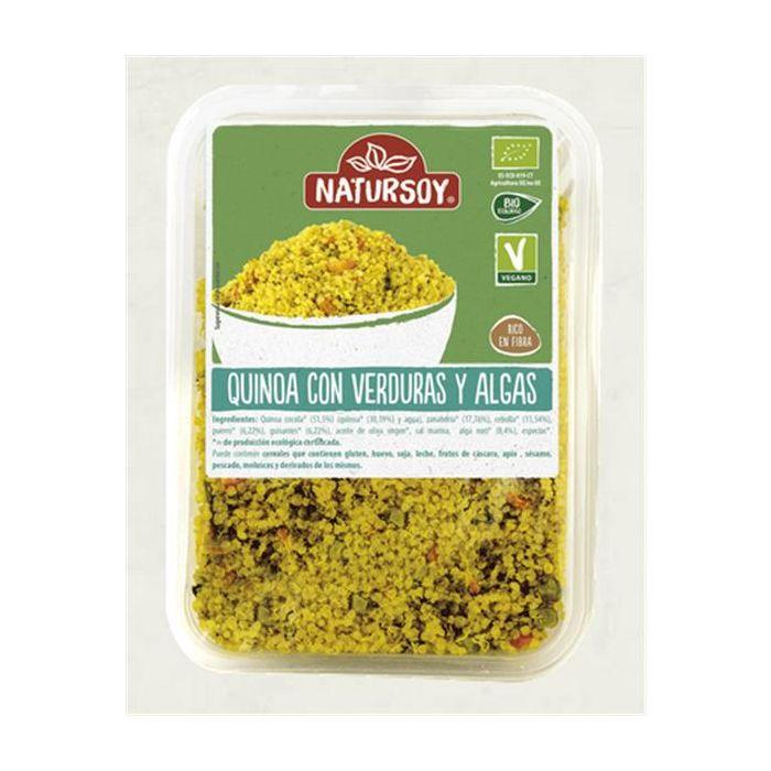 Quinoa Verduras E Algas Bio