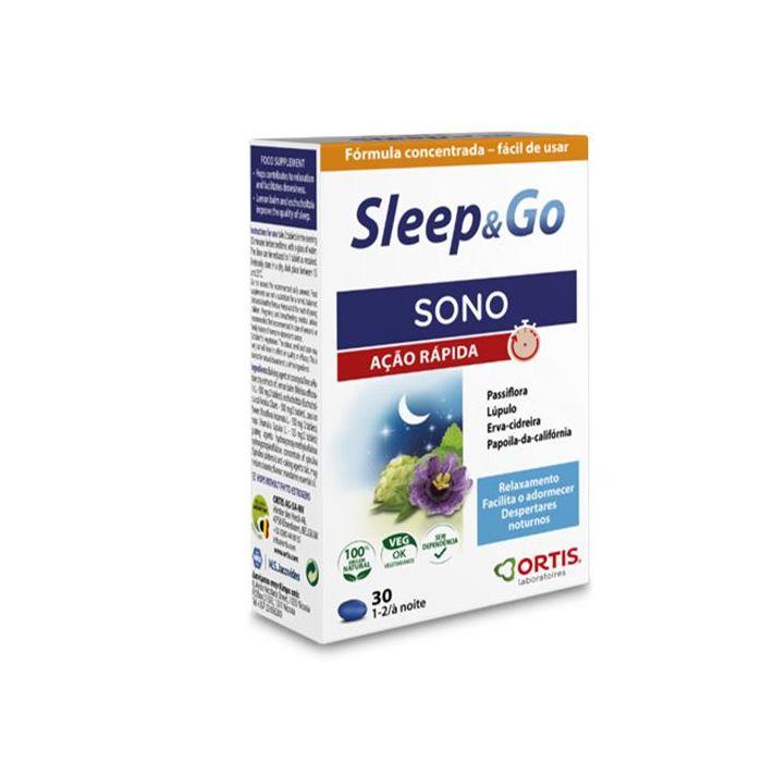 Sleep & Go - Suplemento Alimentar Em Comprimidos
