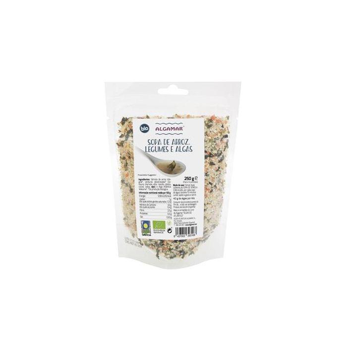 Sopa De Arroz, Legumes E Algas Bio