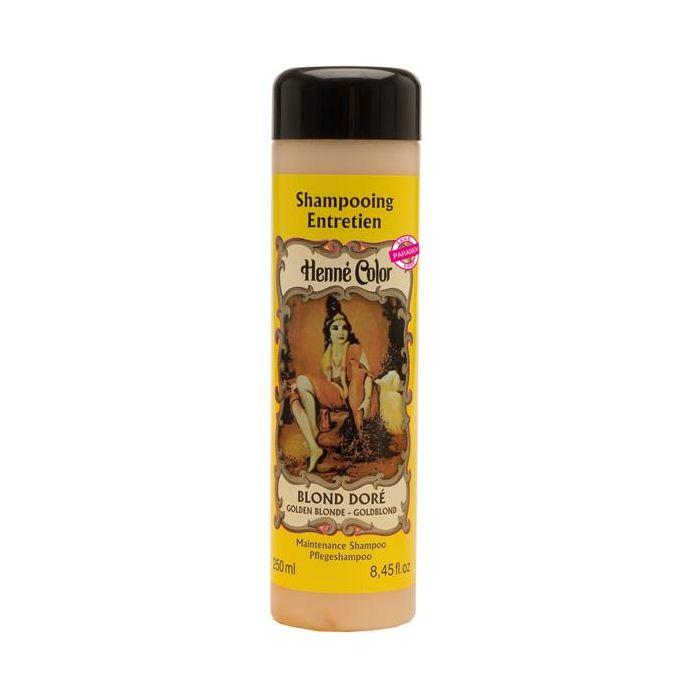 Shampoo Para O Cabelo Henné Color Blond Dore