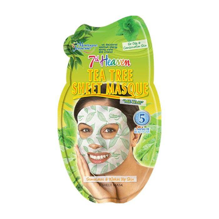 Máscara Facial Toalhete Melaleuca+Hortelã