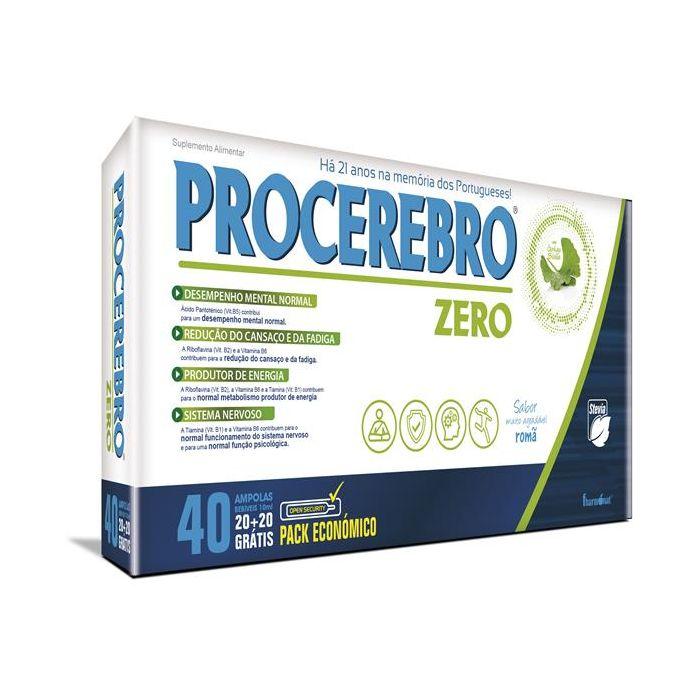Procerebro Zero 20+20Ampolas