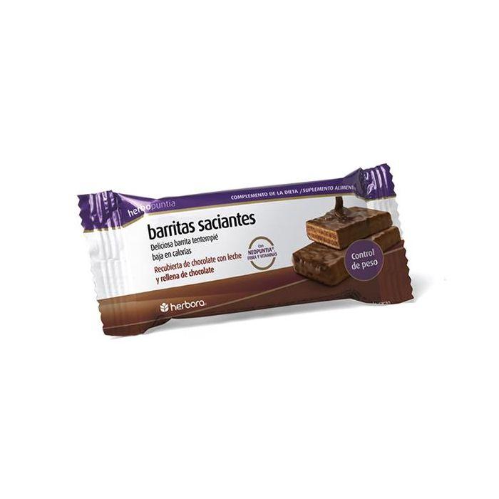 Herbopuntia Barritas Saciantes De Chocolate