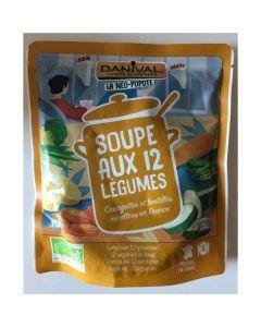 Sopa 12 Legumes Bio Pacote
