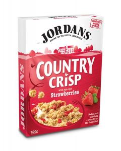 Cereais Country Crisp Com Morangos