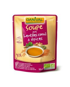 Sopa Lentilhas Especiarias Bio Pacote