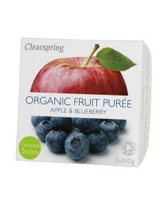 Pure Fruta Maçã+Mirtilo Bio
