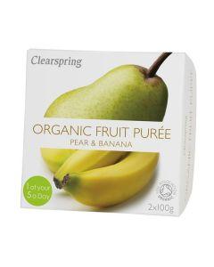 Pure Fruta Pera+Banana Bio