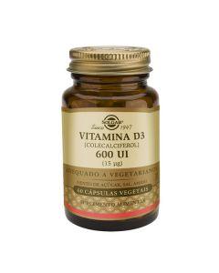 Vitamina D3 600Ui (15 Mcg)