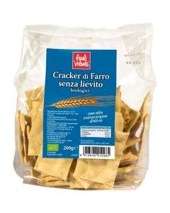 Crackers Artesanal Trigo Espelta + Azeite Bio