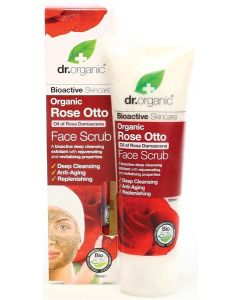 Exfoliante Facial Rosa Damascena Bio