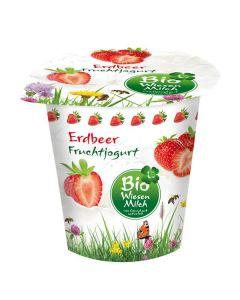 Iogurte Bio Morango Com Leite De Pastagem