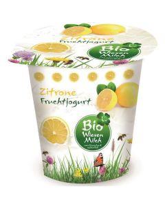 Iogurte Bio Limão Com Leite De Pastagem
