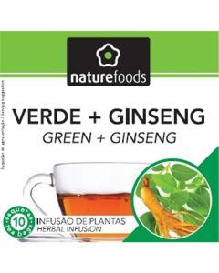 Chá Verde+Ginseng