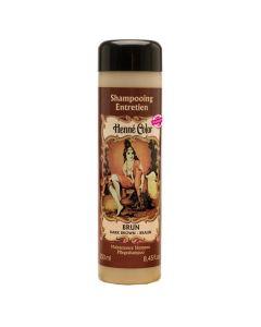 Shampoo Para O Cabelo Henné Color Brun