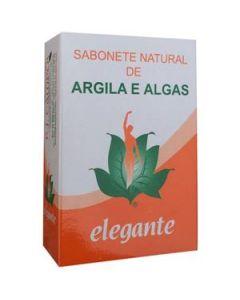 Elegante Sabonete Argila E Algas