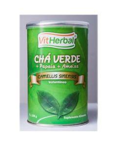 Chá Verde Instantâneo + Papaia + Ameixa