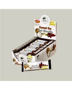 Barra De Coco Com Chocolate Preto