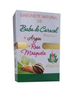 Elegante Sabonete Baba De Caracol+Argan+Rosa Mosqu