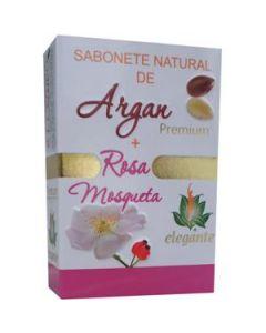 Elegante Sabonete Argan+Rosa Mosqueta