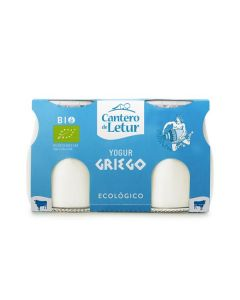 Iogurte De Leite Vaca Grego Bio Natural S. Açúcar
